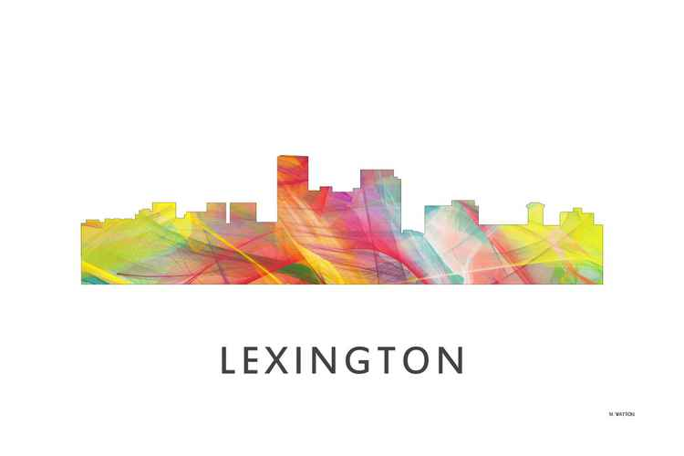 Lexington Kentucky Skyline WB1 -