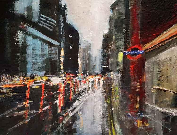 London Rainy Street 3