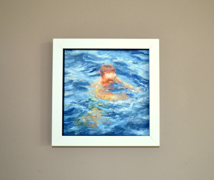 Swimming boy - Image 0