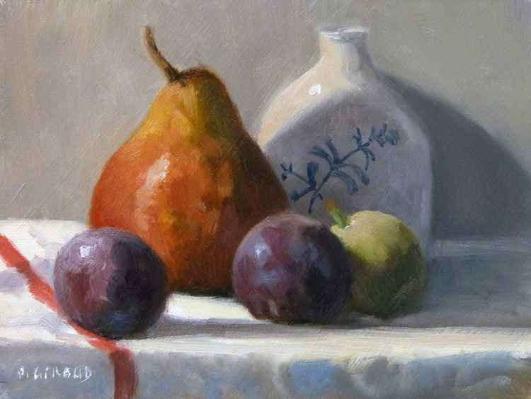 Pear and Plums -