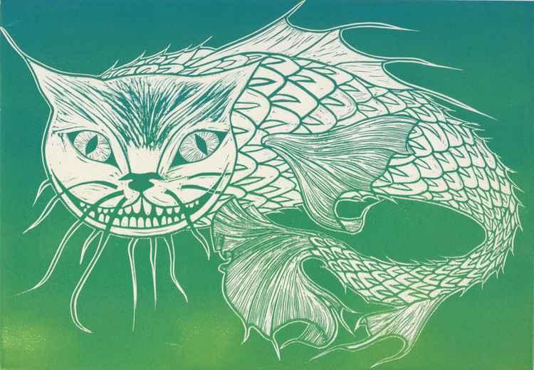 Cat Fish (green) -