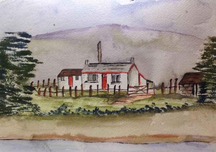 Highland homestead -