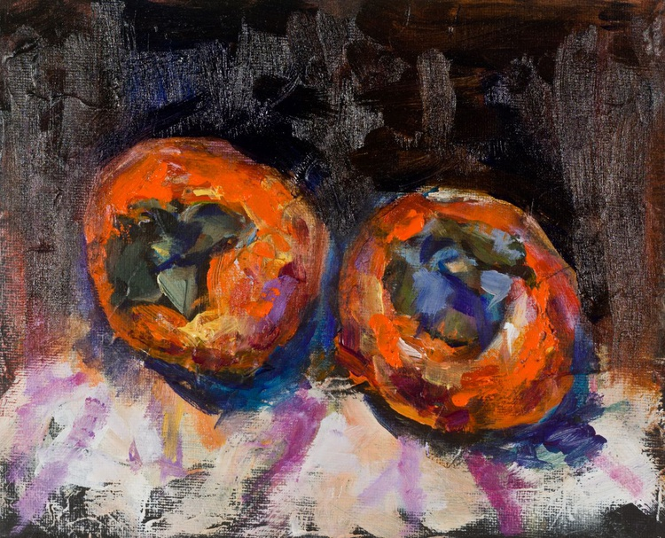 Two persimmons - Image 0