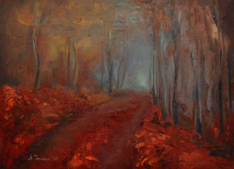 """Foggy Trees"" - Image 0"