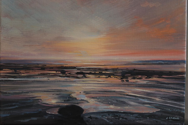 Sunrise at Boulmer III - Image 0
