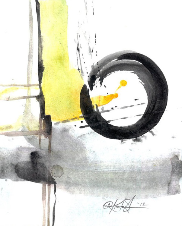 Enso Abstraction Series . No.106 - Image 0