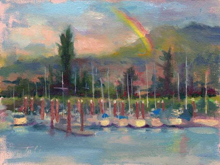 New Covenant - rainbow over marina - Image 0