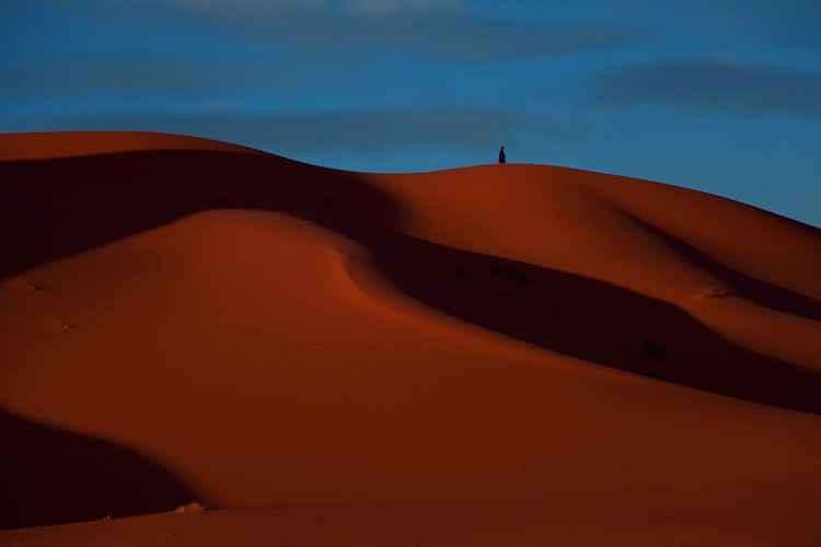 Saharan sand -
