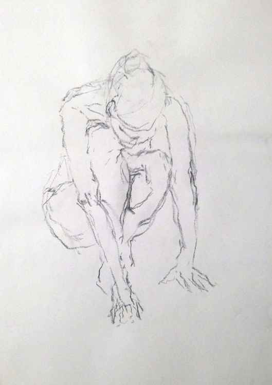 Quick gestural sketch