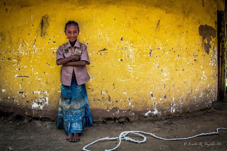 The ethiopian girl - Image 0