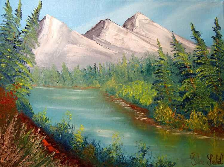 Bord d'un lac