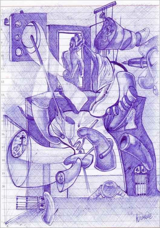 Dalinian sketch 2