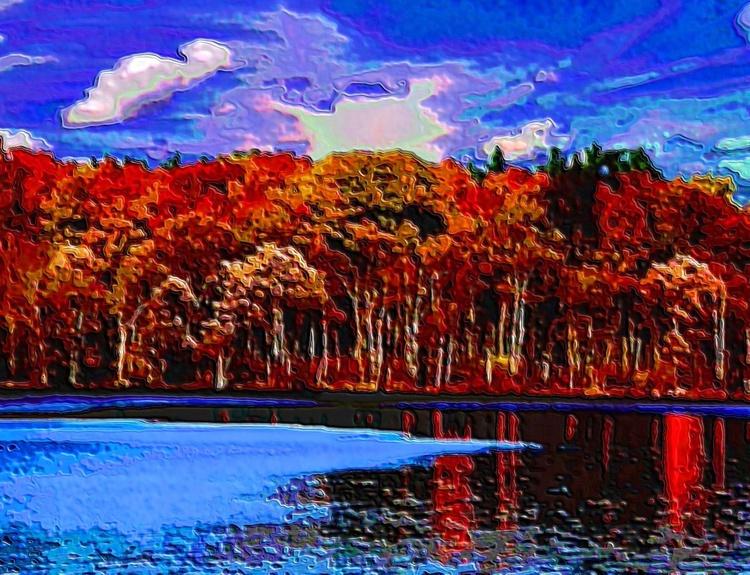 Olin Lake  Fall - Image 0