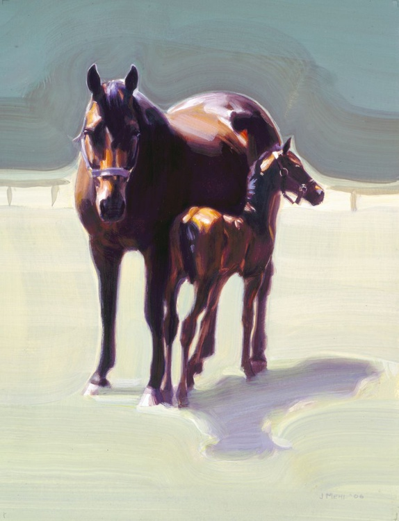 Mare with foal - Image 0