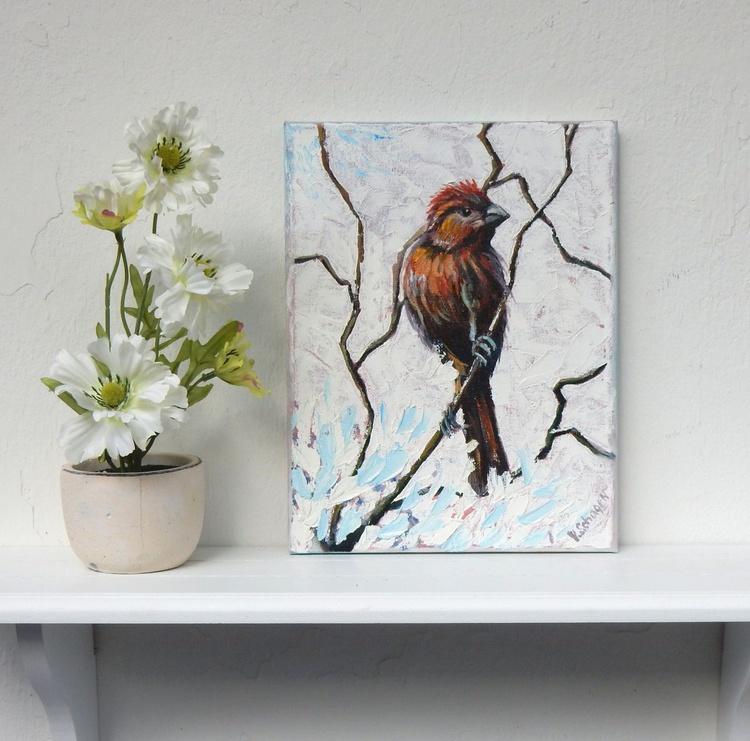 Bird on the tree. - Image 0