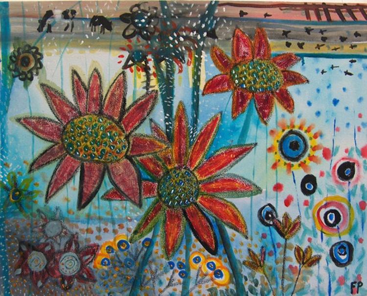 Bright Flowers - Image 0