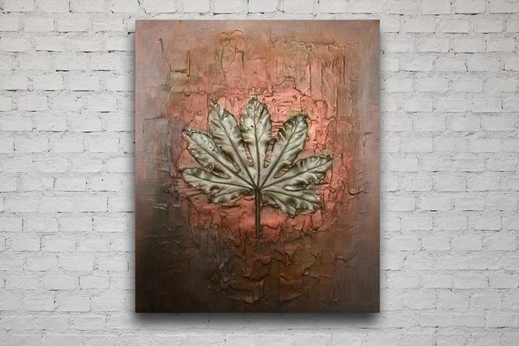 Gold leaf - Image 0