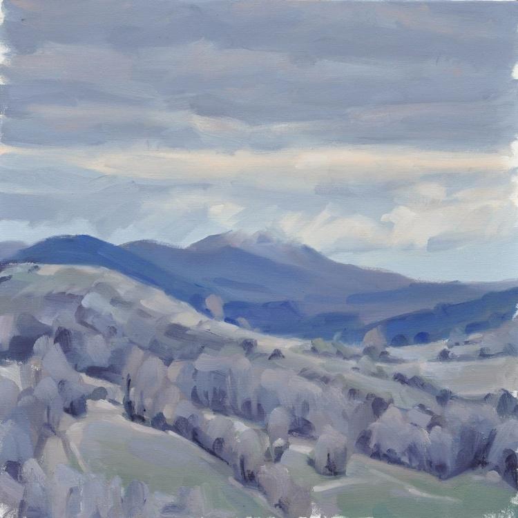 March 30, Roches de Mariol, grey morning - Image 0