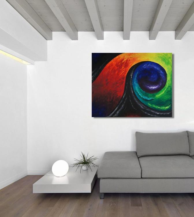 Color Swirl   (100 x 80 cm ) - Image 0