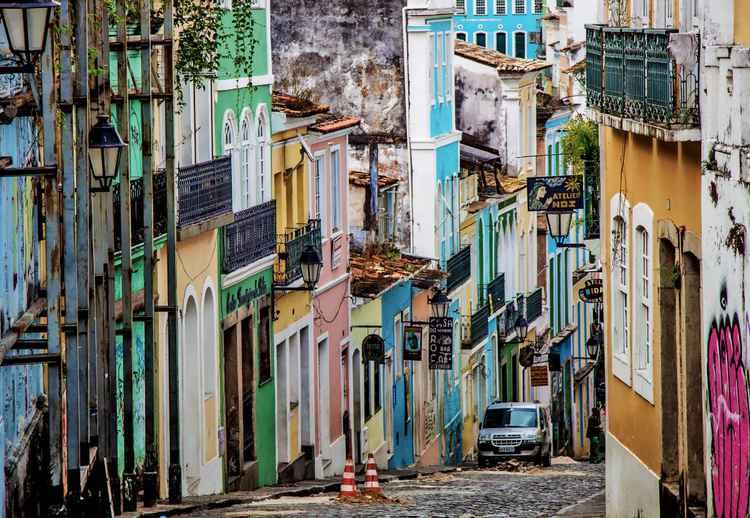 Streets of Salvador.