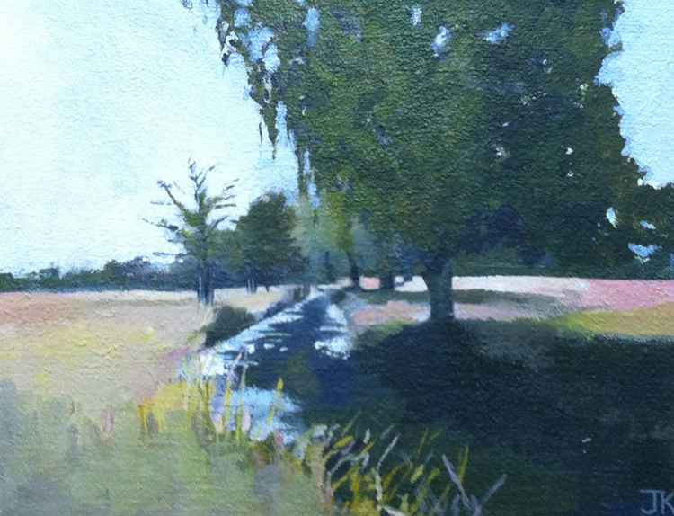 THE STREAM IN SUMMER -