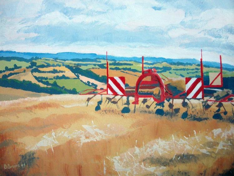 Farmland near Copplestone - Image 0