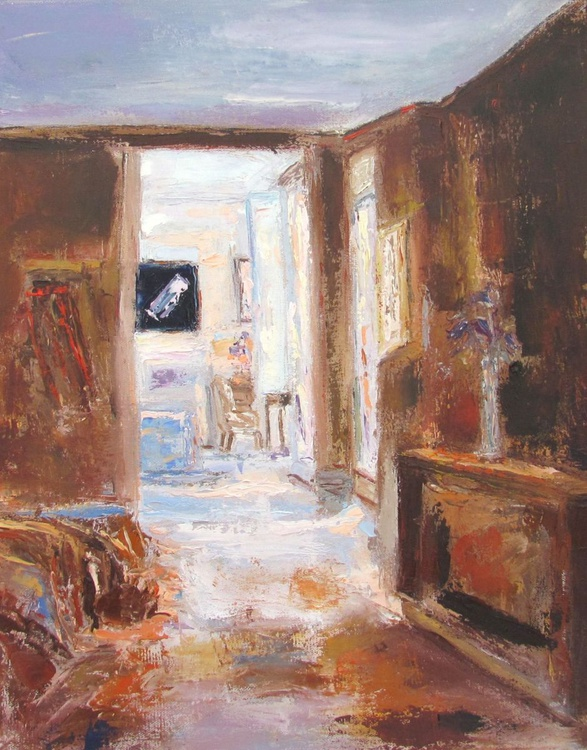 Interior 13, Original, One of a kind - Image 0