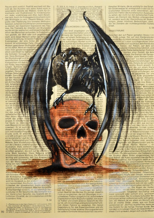 Raven And Skull - Image 0