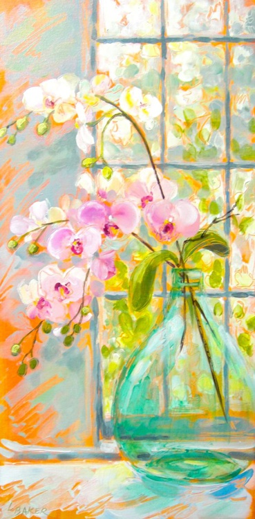 ORCHIDS IN JAR - Image 0