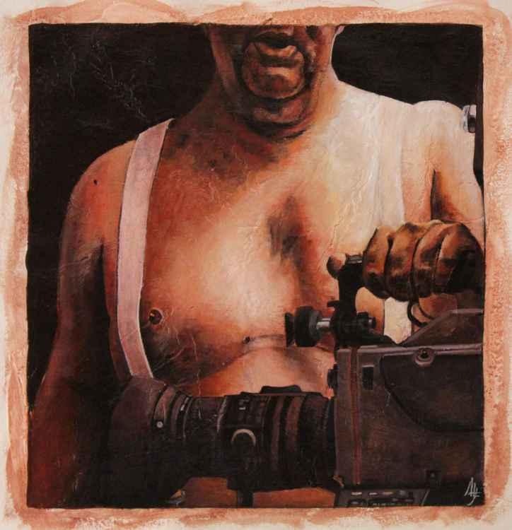 IMPEGNO (portrait of jourmalist Giampiero Tasso) -