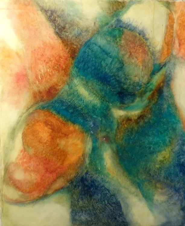 Metafigure #69, oil on canvas 100x81 cm - Image 0