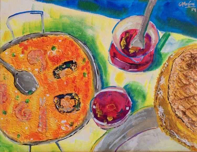 Verano con paella -