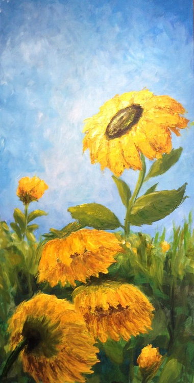 Sunflowers (vertical) - Image 0
