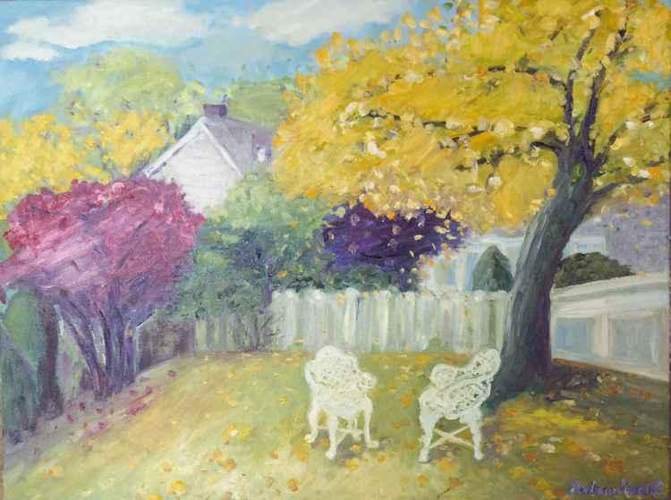 Fall in my backyard -