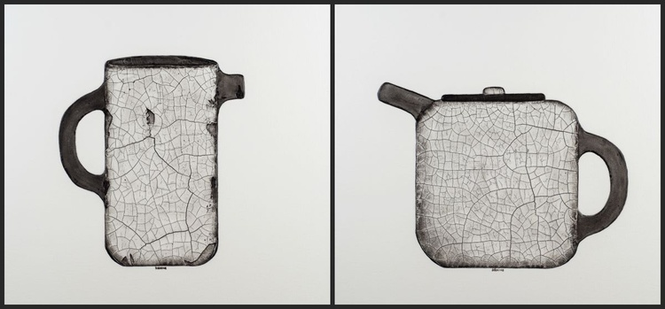 Together Forever - Diptych - Image 0