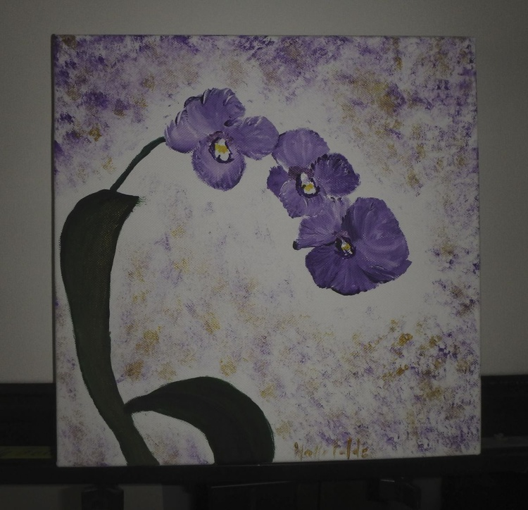 Orchids on a Stem - Image 0
