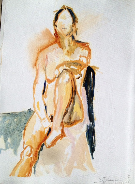 Oil Paint Drawing Study - Image 0