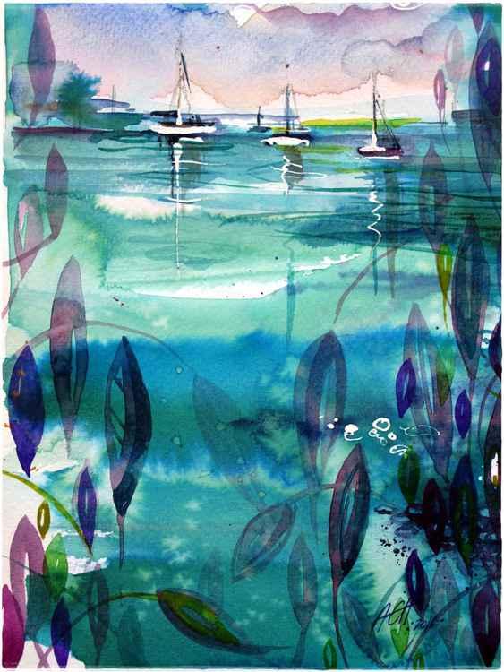 ' green loch ' landscape of imagination