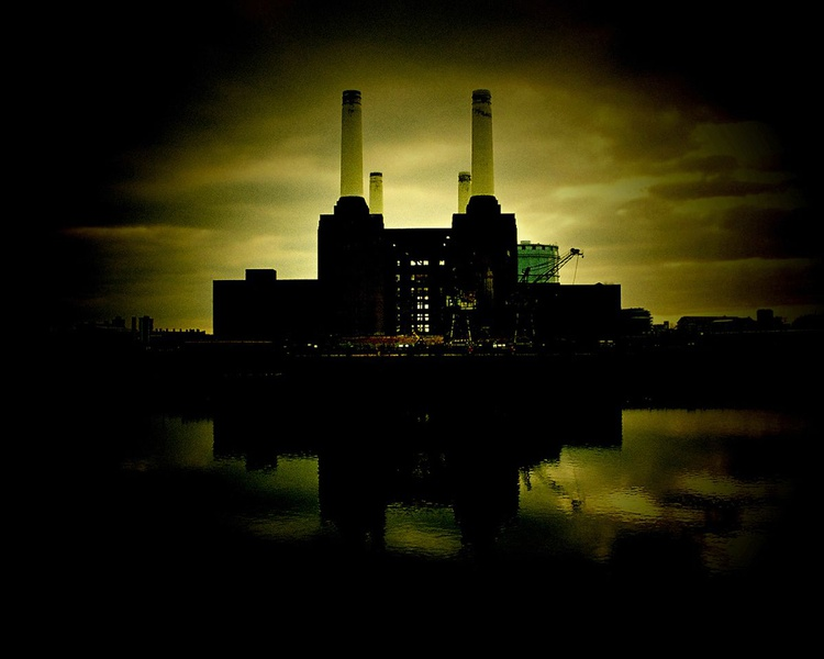 "BATTERSEA DUSK: London(Limited edition  1/20) 15""X12"" - Image 0"