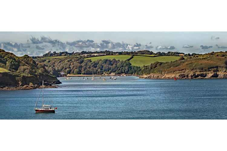 The Mouth of the Helford River -