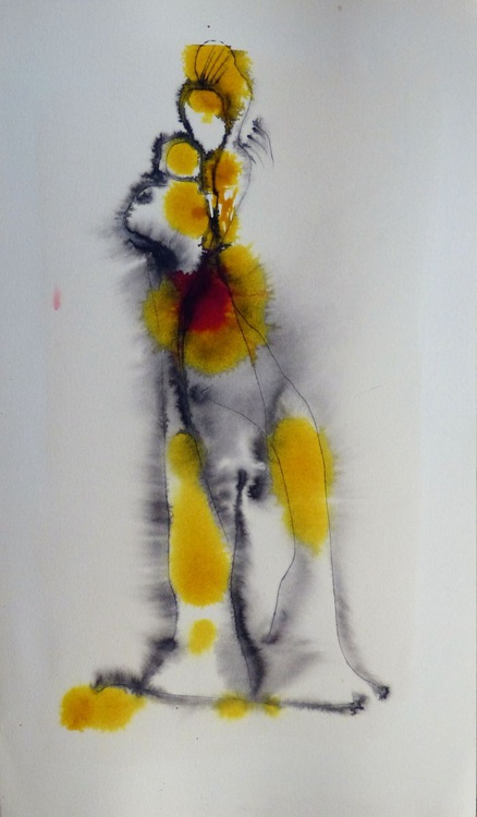 Variation on a Passer-by #11, 24x40 cm - Image 0