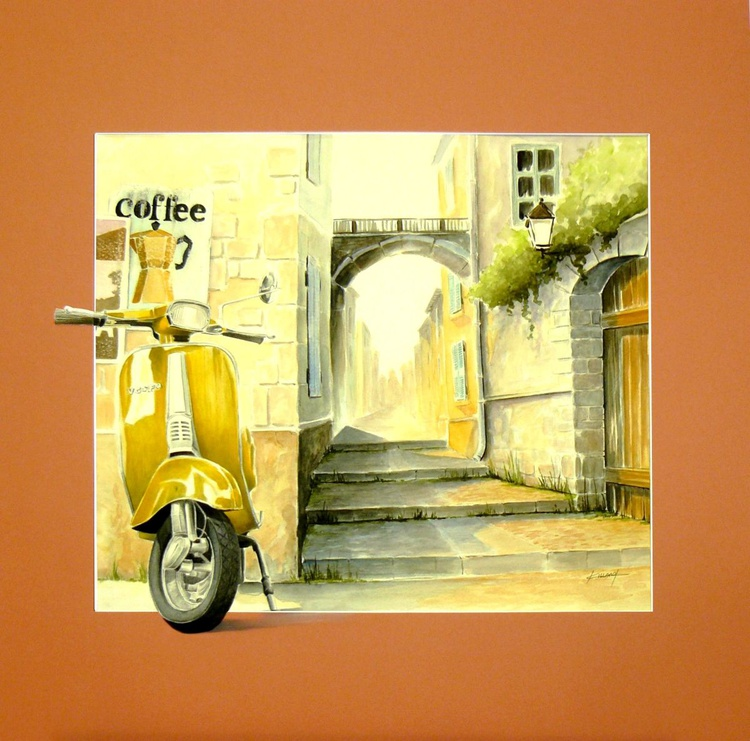 Scooter in Italy - Dolce Vita - Image 0