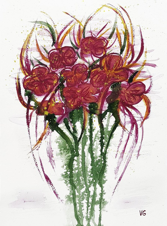 Magenta flowers - Image 0