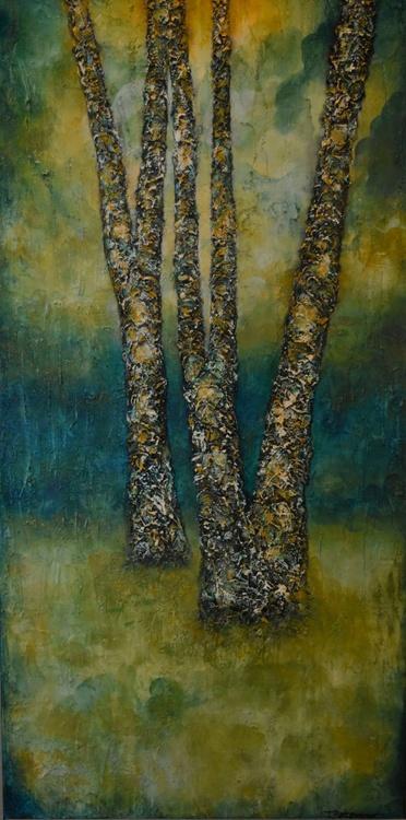 Teal woods II - Image 0