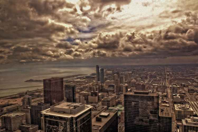 Chicago Lakefront Storm -