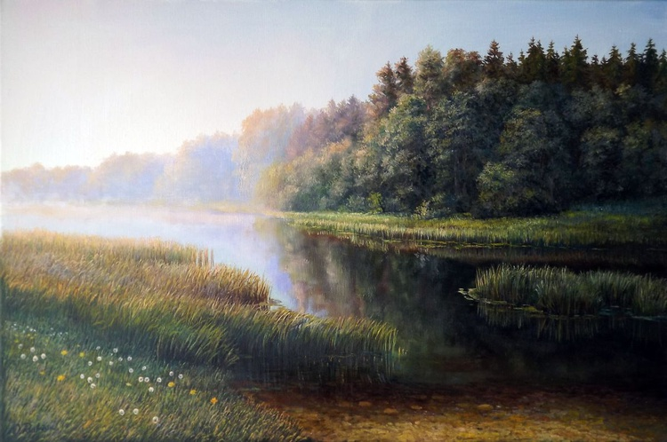 Morning on the river - Image 0