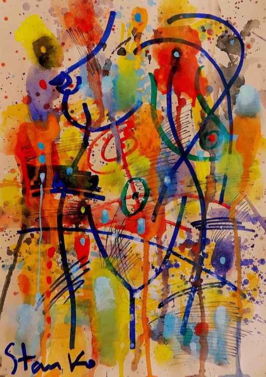Rainy sketches(on jazz)-IV -