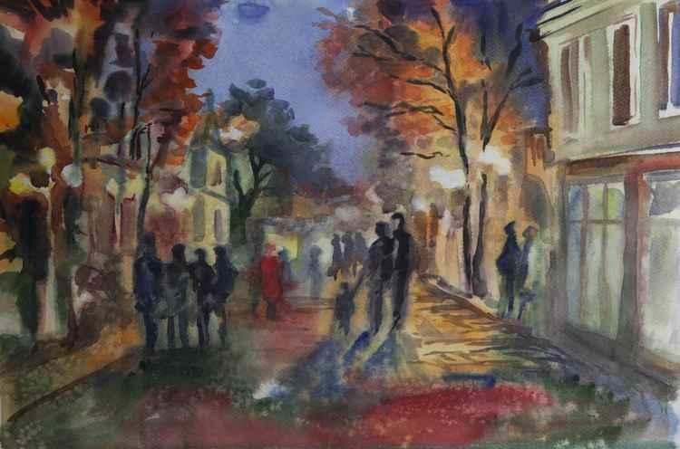Autumn Promenade -