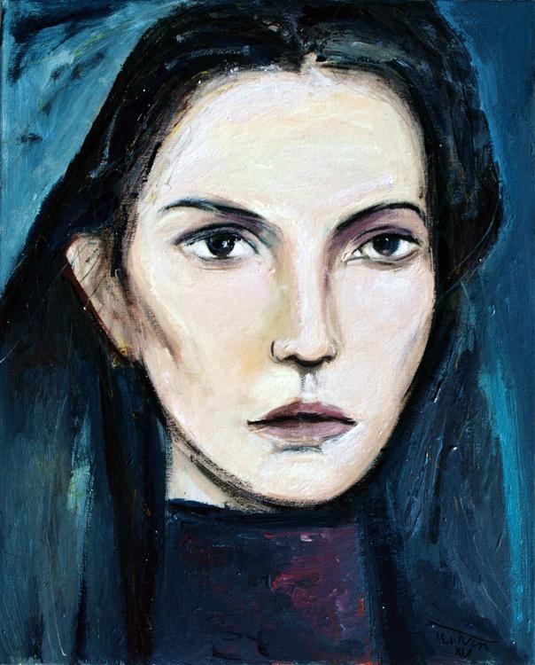 The widow from Frigiliana ( woman figure study) - Image 0