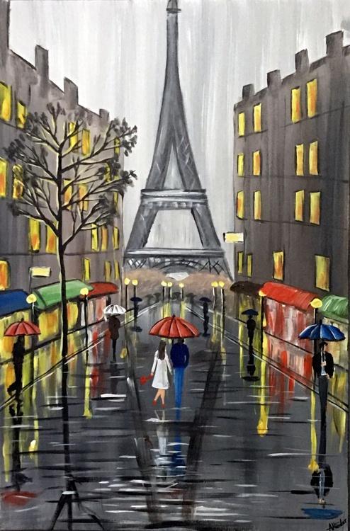 Raining At The Eiffel Tower - Image 0